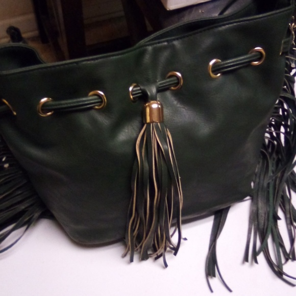 NWT Yoki Leather shoulder bag